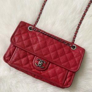 Chanel French Riviera Medium Flap Bag